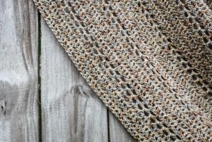 Spanish Moss Crochet Wrap Details