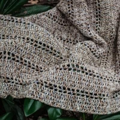The Spanish Moss Crochet Wrap