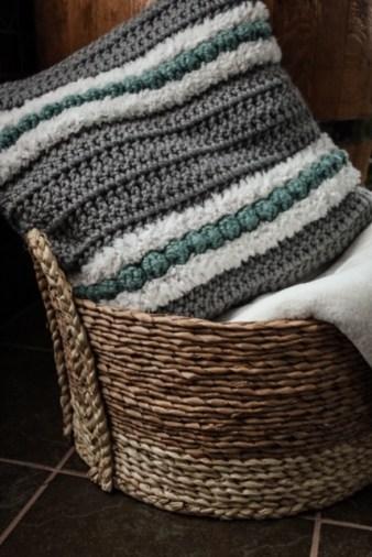 The Hope Crochet Pillow
