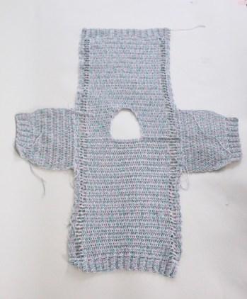 The Meadows crochet top Seaming