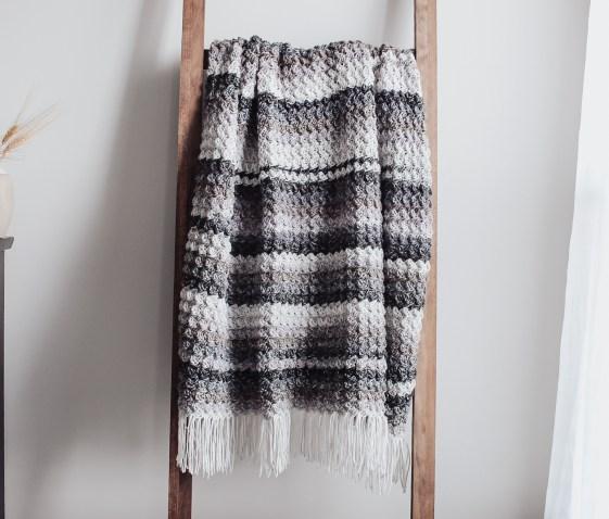 The Summer Storm Crochet Blanket