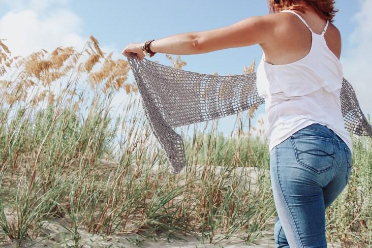 Stevie crochet wrap 1
