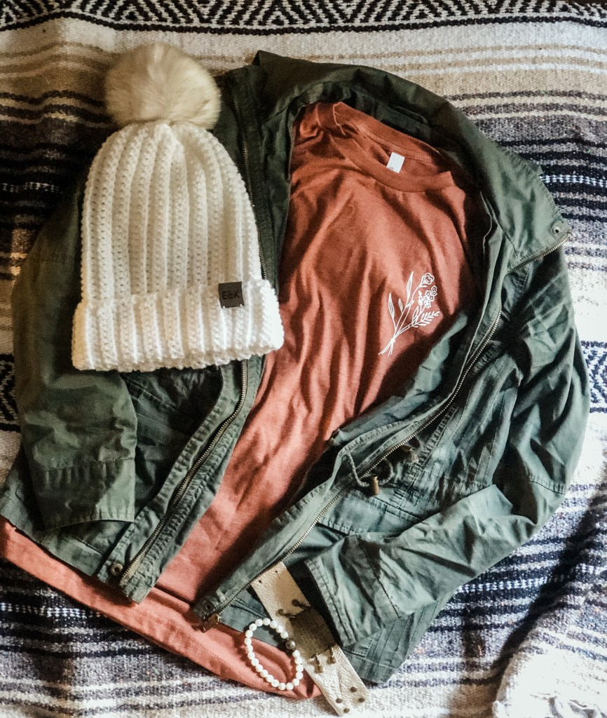 Compass Beanie Outfit