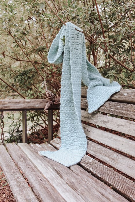 The water crochet scarf