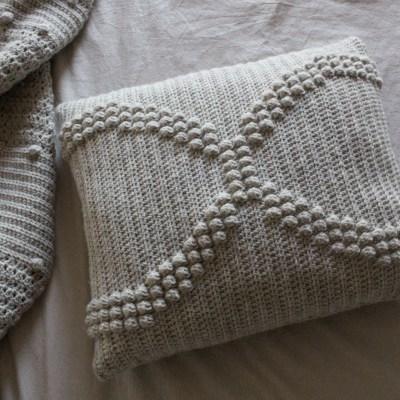 The Helix Crochet Pillow