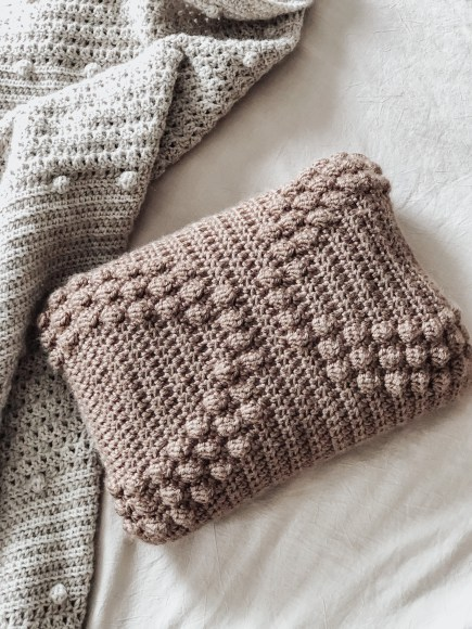 The Arches Crochet pillow
