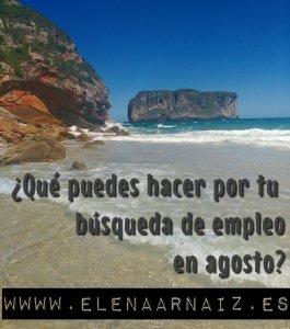 Empleo Agosto Elena Arnaiz