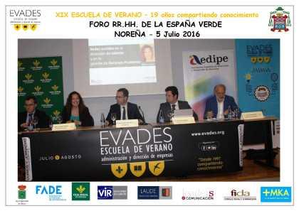 Redes Sociales para la atracción de talento en Foro de Recursos Humanos de la España Verde