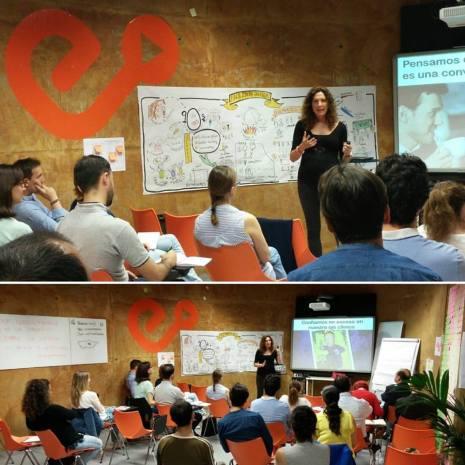 Redes sociales talento Elena Arniaz