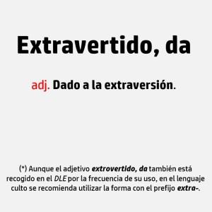 Extraversión Introversión