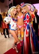 Victoria's Secret Models and Taylor Swift