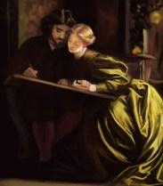 15 frederick leighton - the painters honeymoon