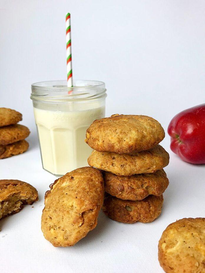 Μπισκότα με Μήλο|Χωρίς ζάχαρη