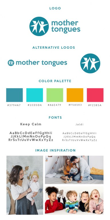 mood board, rebrand