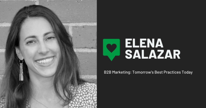 B2B Marketing Q&A: Elena Salazar on Employee Advocacy, SpaceX Launches, Acroyoga and More.