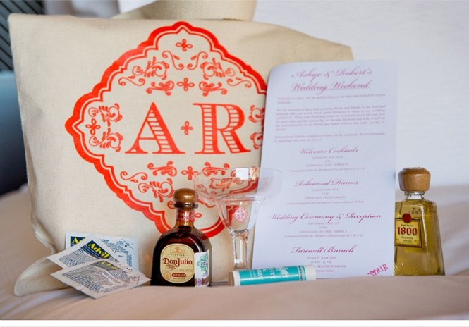 Wedding Welcome Bags Mexico