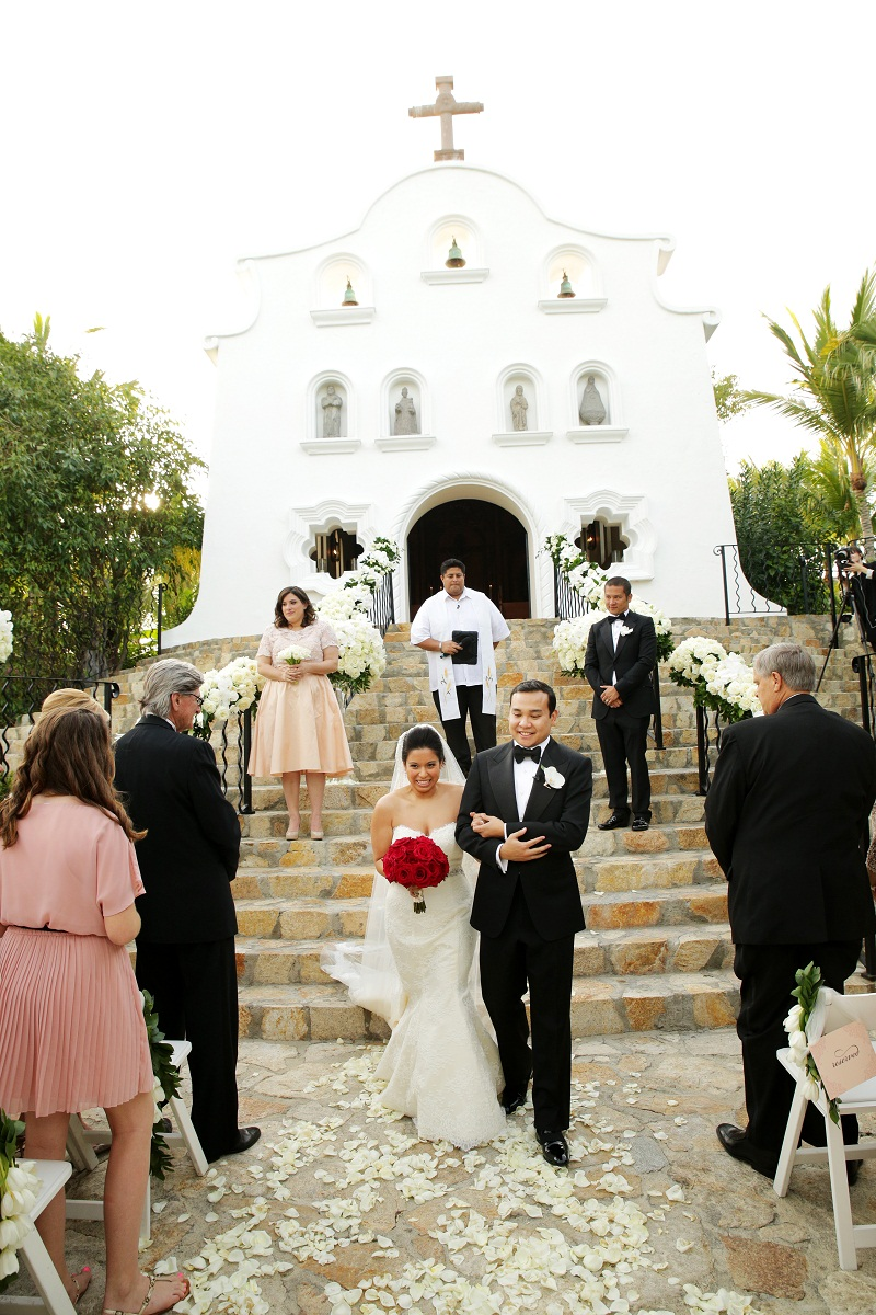 Elena Damy  Formal Ballroom Wedding at Palmilla  Elena Damy
