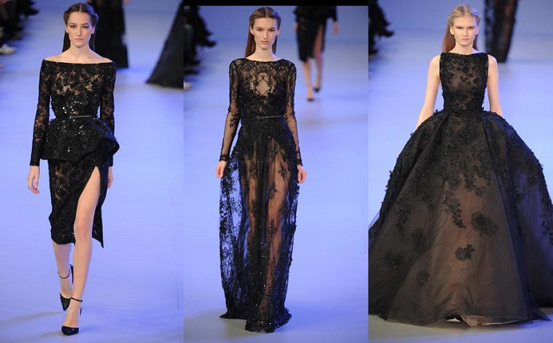 Elena Damy  Floral Gowns from Elie Saab SpringSummer 2014 Collection  Elena Damy