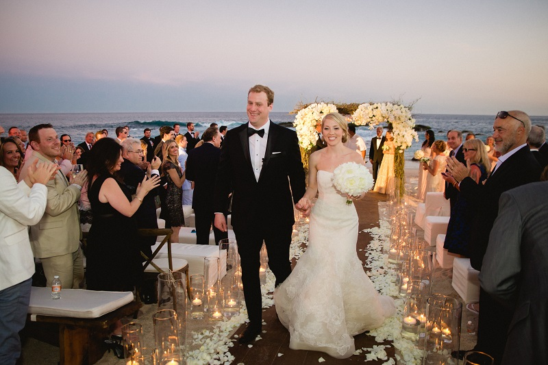 Elena Damy  Tips for Hosting a Black Tie Beach Wedding  Elena Damy