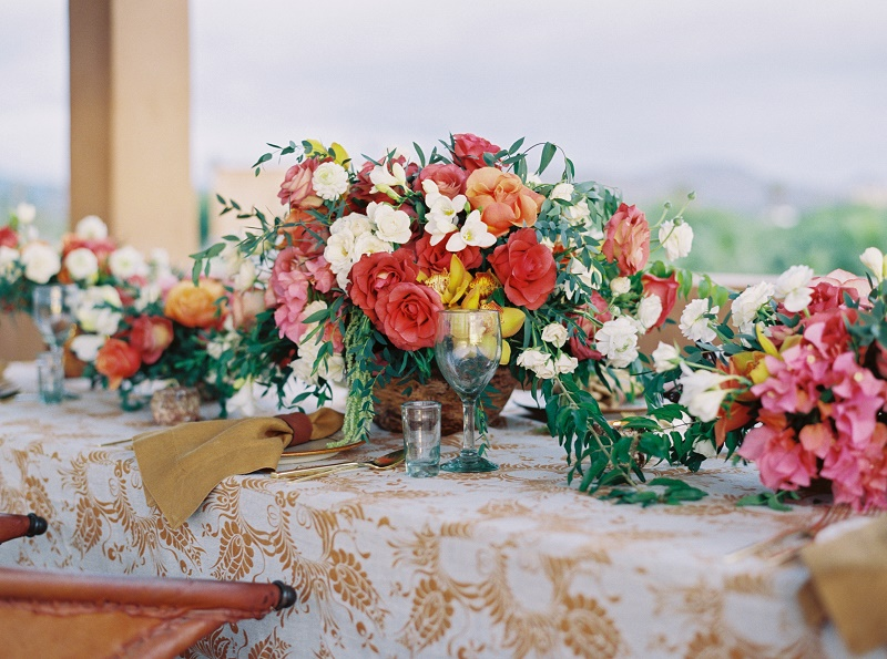 A Mexican-themed Wedding Centerpiece We Love