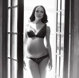 Фотосессия беременных в стиле ню