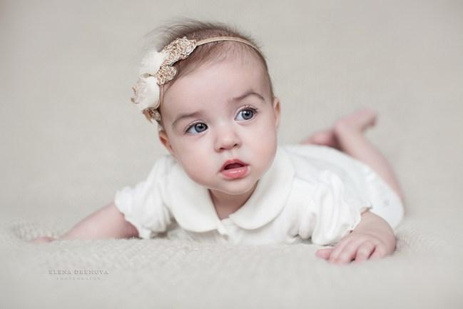 Фотосессия новорожденного до 1 года