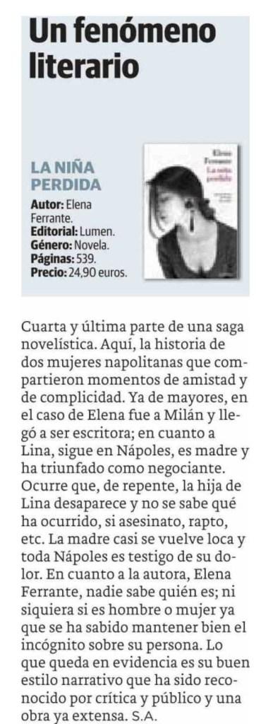 2015.12.26 - EL DIARIO VASCO. GUIPUZCOA