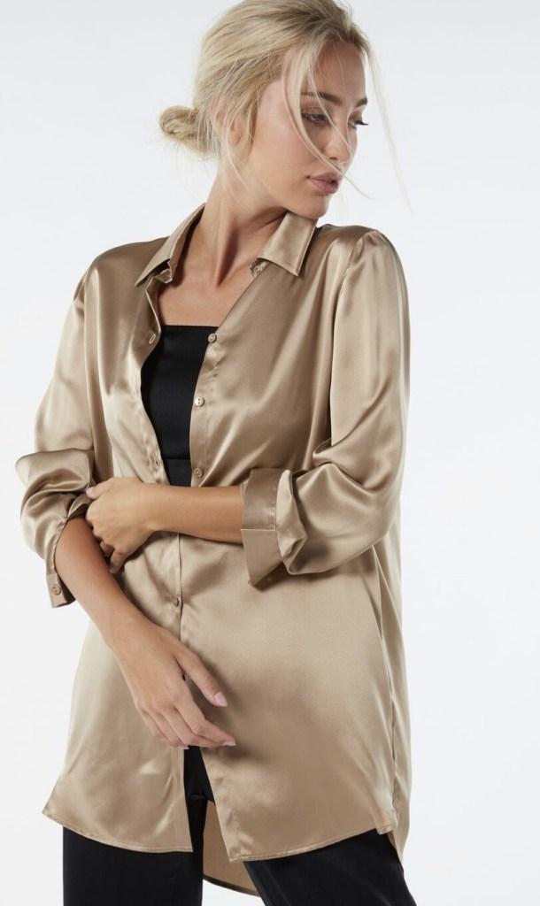 Camicia In Seta Di Intimissimi Elena Camponovo Zoppi Lifestyle Blog