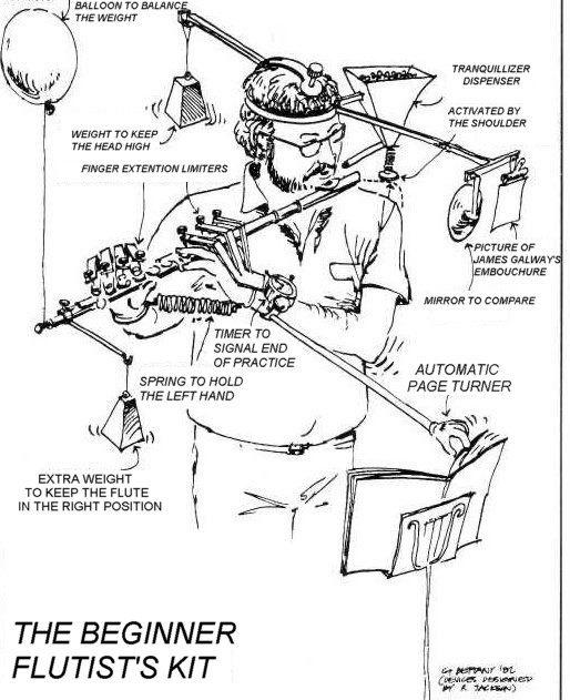 Kit del flautista principiante