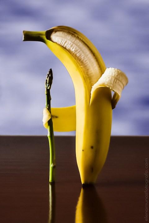 Banana con lumbago