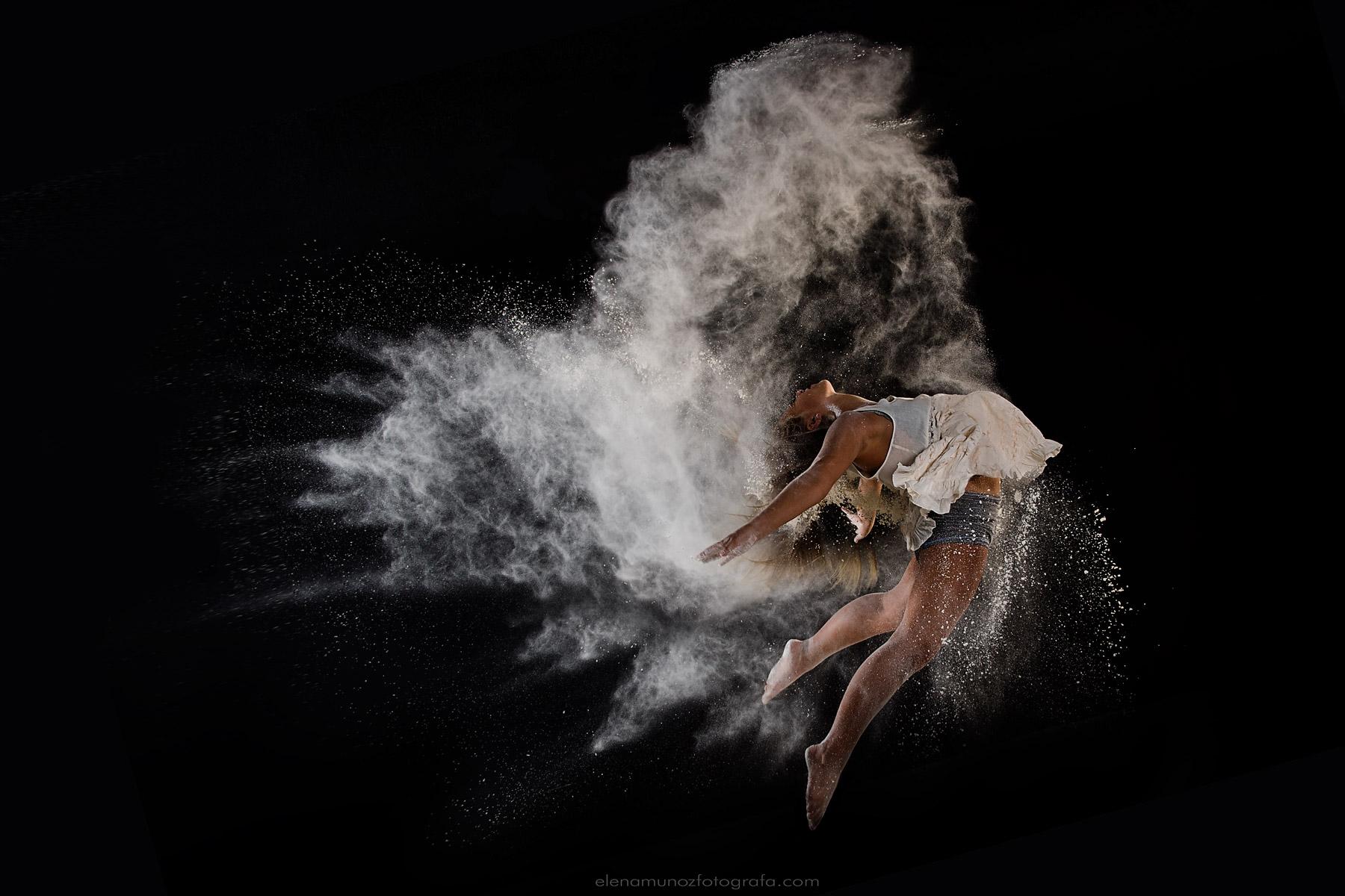 Flour dance photography