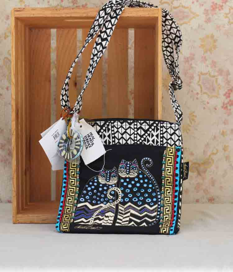 Laurel Burch bag Polka Dot Gatos LB4315