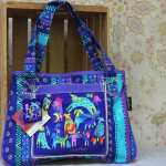 Laurel Burch bag Mythical Dogs LB5391