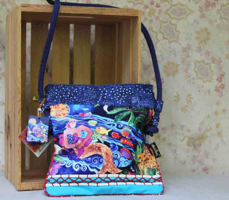 Laurel Burch bag Ocean Song LB5402