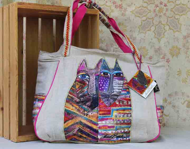Laurel Burch Gatos bag LB 5440