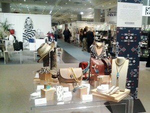 Western design fashion trend display.