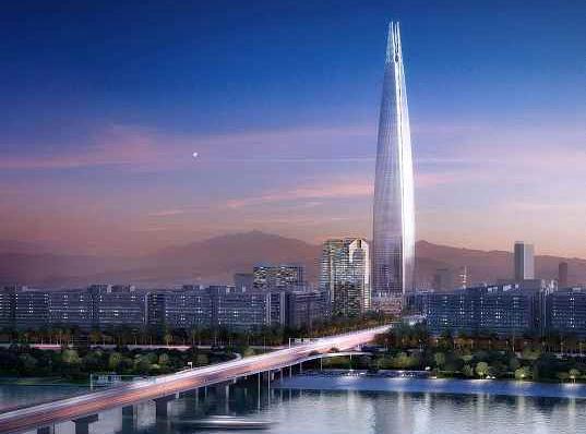 lotte-super-tower-1Coreea de Sud