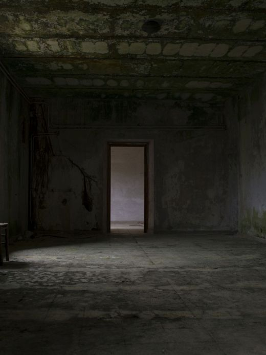 Interior of abandoned monastery