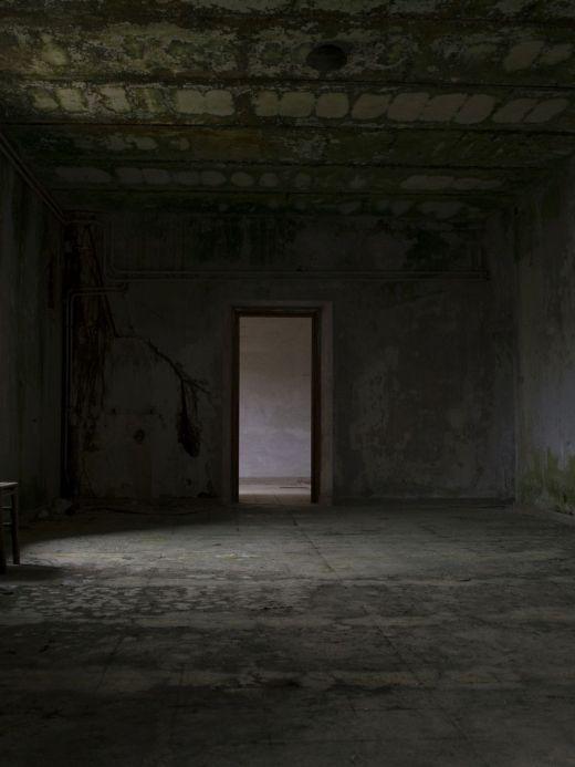 Interior of abandoned monastery