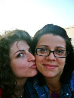 Alexandra mi-a fost sprijin moral la facultate și ghid prin București, ne-am tocit tălpile împreună prin oraș