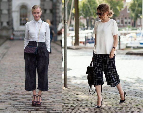 Pantalones culotte tendencia 2016
