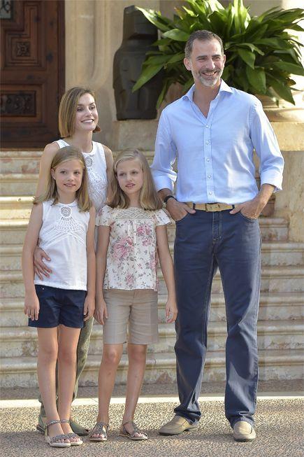 Papel de la familia real española