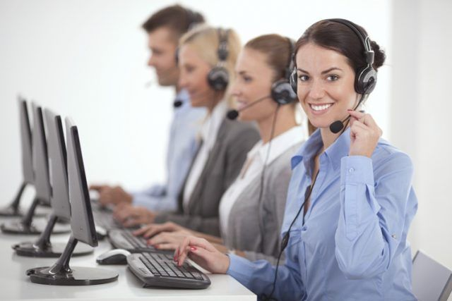 Atención telefónica al cliente