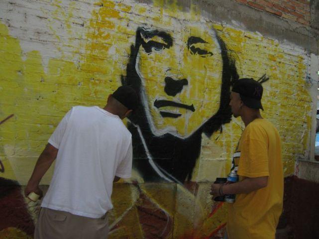 Lucio Cabañas Mural Atliaca