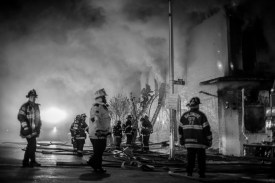 On April 27th, 2015 15 structures were set on fire in Baltimore.