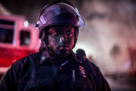 Not even a black president, a black mayor, a black police commissioner and several black police officers can wash away the legacy of white supremacy in the USA.