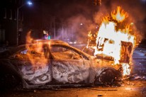 On April 27th, 2015 144 vehicles were set on fire in Baltimore.