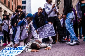 The Justice Department's Bureau of Justice Statistics reports that between 2003 and 2009 black people were about four times as likely to die in custody or while being arrested than whites.