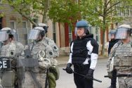 The arrival of the National Guard is directly a result of the total loss of control by Baltimore authorities.