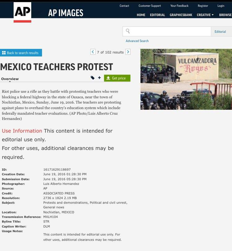Associated Press metadata